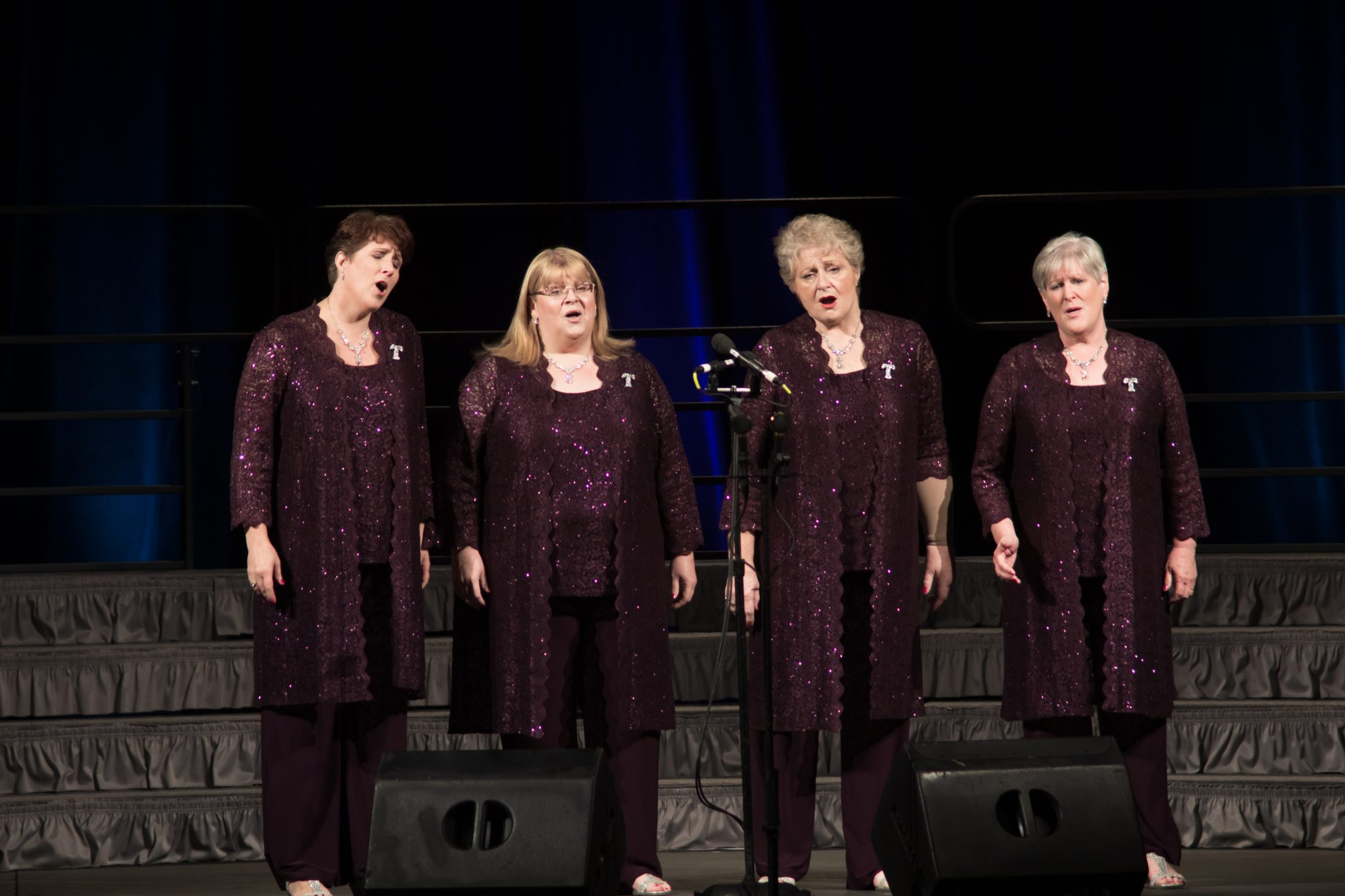 Harmony Inc., barbershop quartet, a cappella, women, singing, chorus, quartet